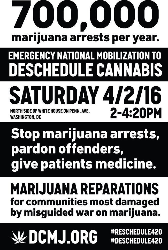 It's time to demand Obama reschedule cannabis!