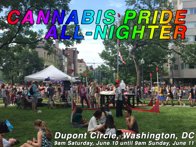 Join us at the Cannabis Pride All-Nighter!