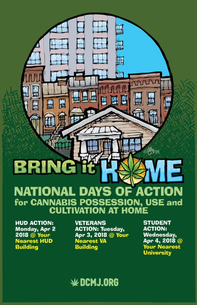Take Part in the Bring It Home Campaign this April!