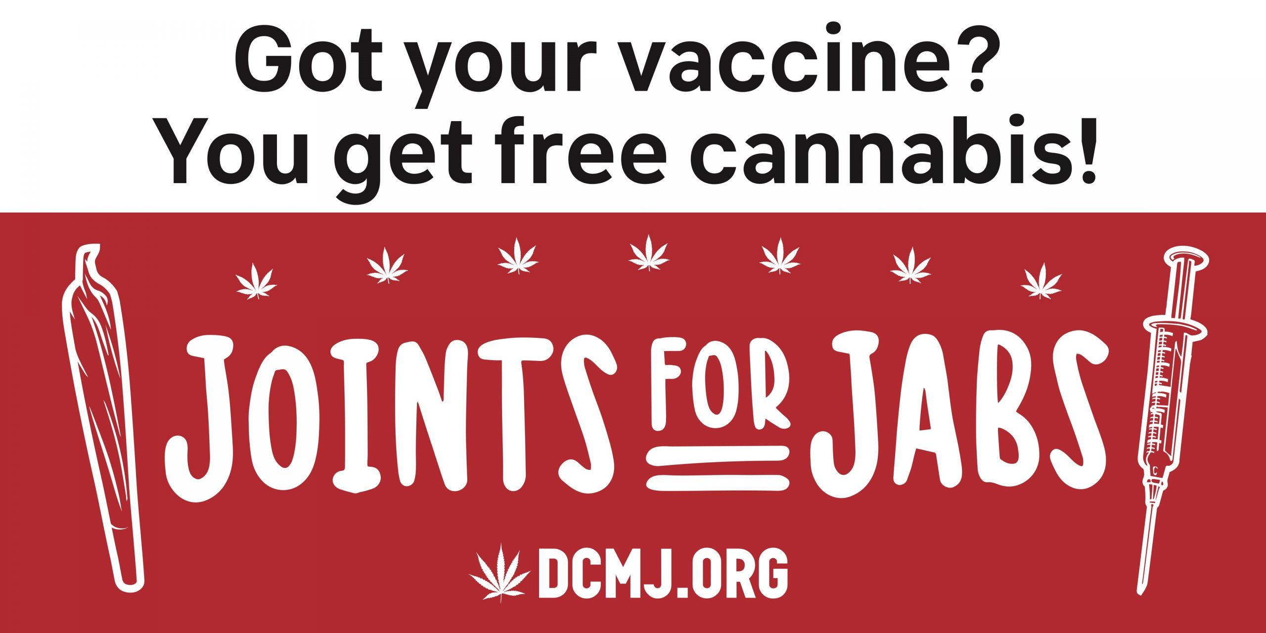 Joints For Jabs - DC Marijuana Justice